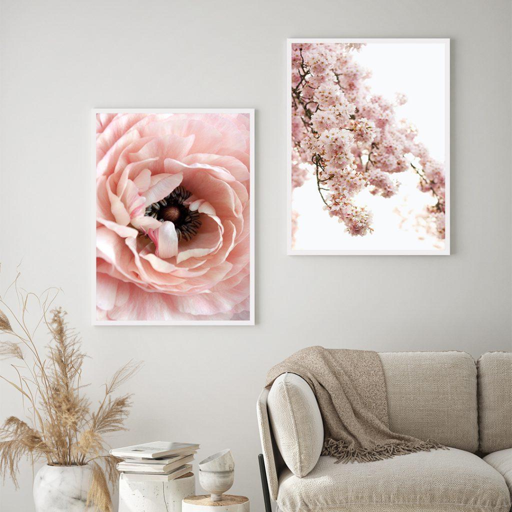 รูปดอกไม้แต่งบ้าน