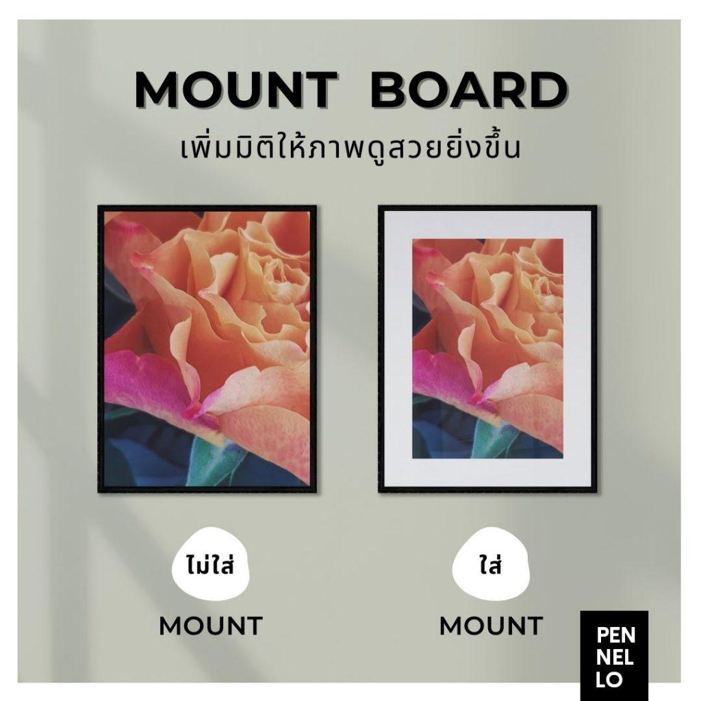 Mount board กระดาษเมาท์ artboard